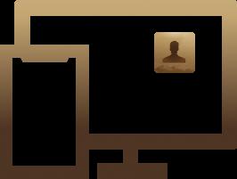 Logo CopyTrans Contacts auf dem Bildschirm
