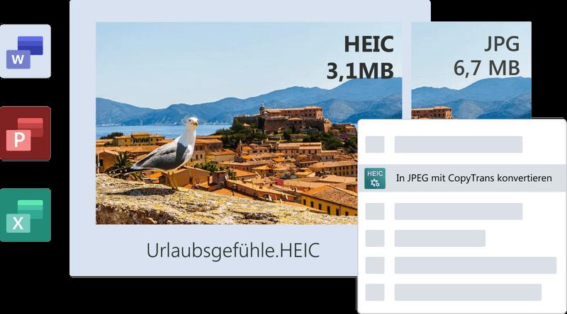 Foto in HEIC-Format