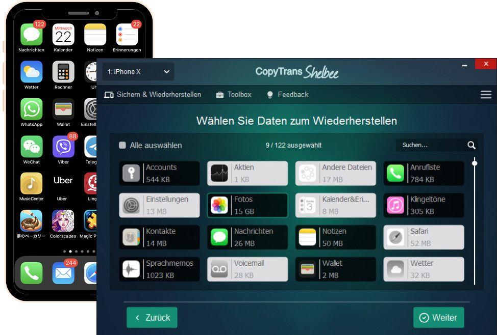 iPhone wiederherstellen