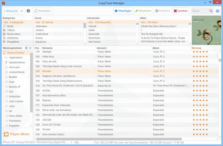 Musik ohne iTunes zum iPhone übertragen
