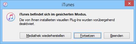 Automatische Synchronisierung des iPhone in iTunes verhindern