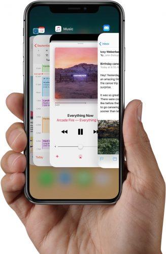 iPhone Apps schließen