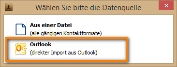 Kontaktimport aus Outlook am iPhone