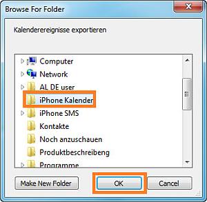 iphone kontakte speichern