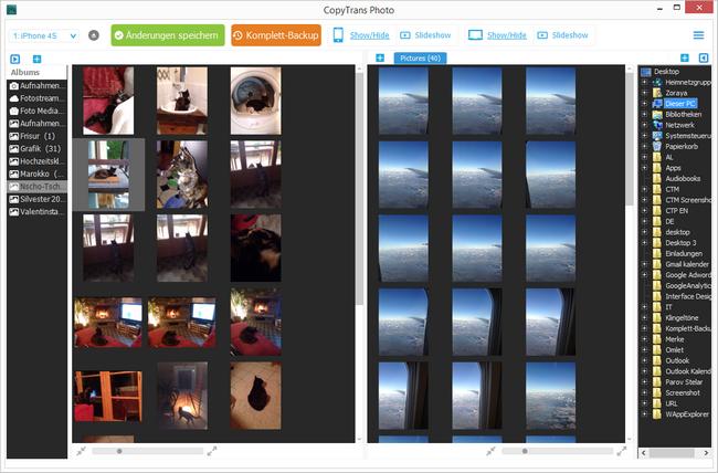 iPhone Fotos zum PC übertragen