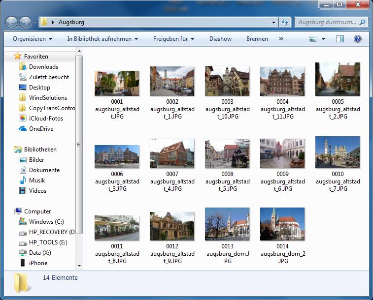 Bilder vom Handy auf PC übertragen