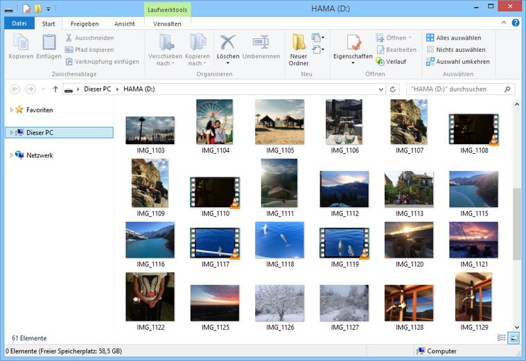 Bilder vom iPhone auf USB-Stick übertragen