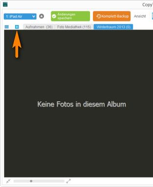 Neues Album am iPhone erstellen