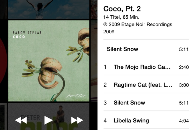 Parov Stelar aus iTunes Store