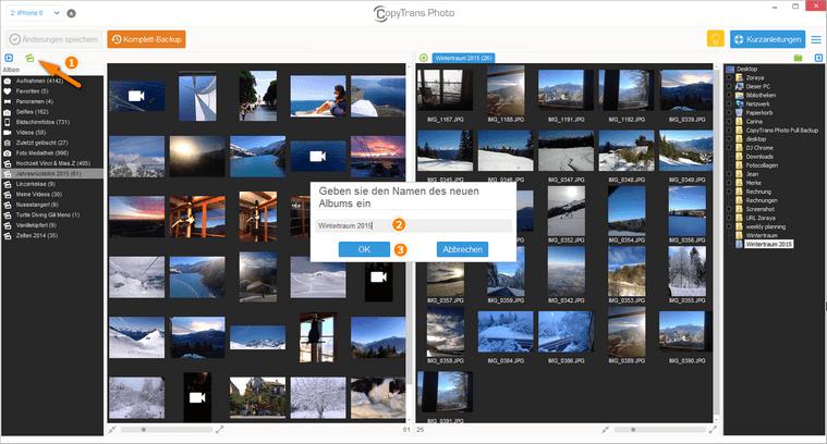 Bilder von PC auf iPad: Fotoalbum am iPad erstellen