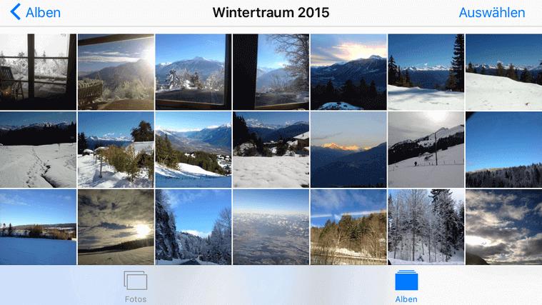 Bilder von PC auf iPad übertragen