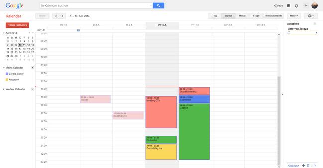 Kalender vom iPhone zum Gmail übertragen