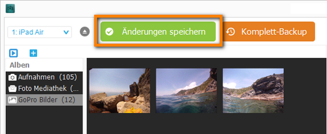 GoPro Speicherkarte auslesen
