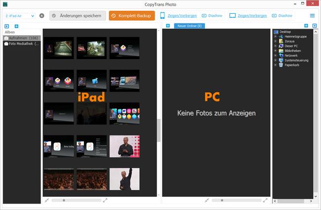 GoPro Standbilder auf iPhone und iPad übertragen