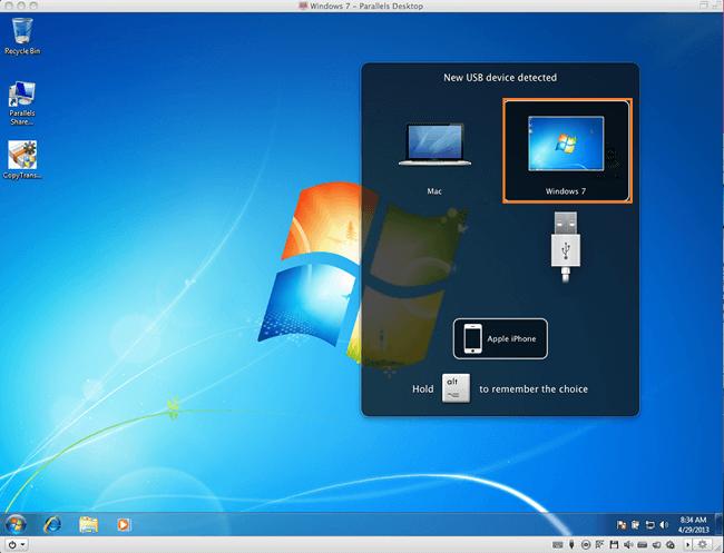 Parallels Desktop auf Mac