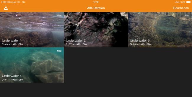 GoPro Videos abspielen am iPad und iPhone