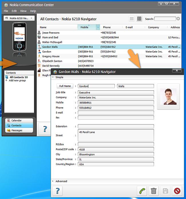 iPhone Kontakte auf ein Nokia Handy übertragen