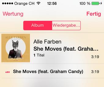 Musik laden am iPhone