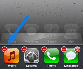 Laufende Apps undter iOS 6 schliessen
