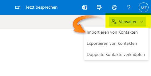 auf Windows Phone Kontakte importieren