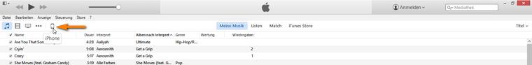 iTunes übersicht