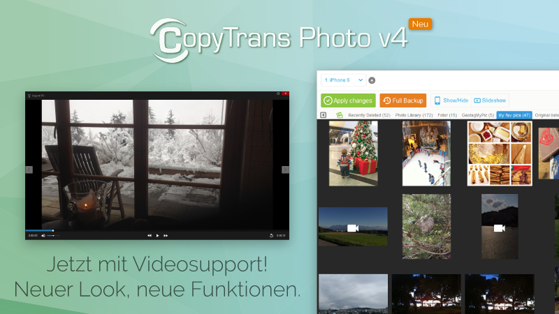 Bilder und Videos ohne iTunes verwalten