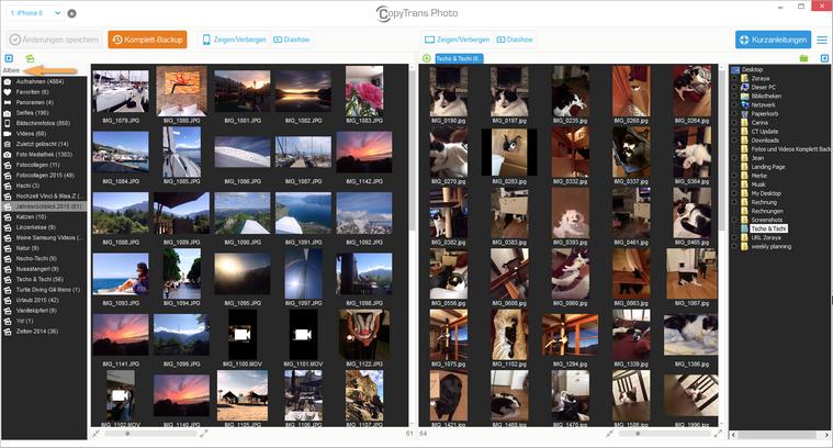 Bilder importieren vom iPad auf PC