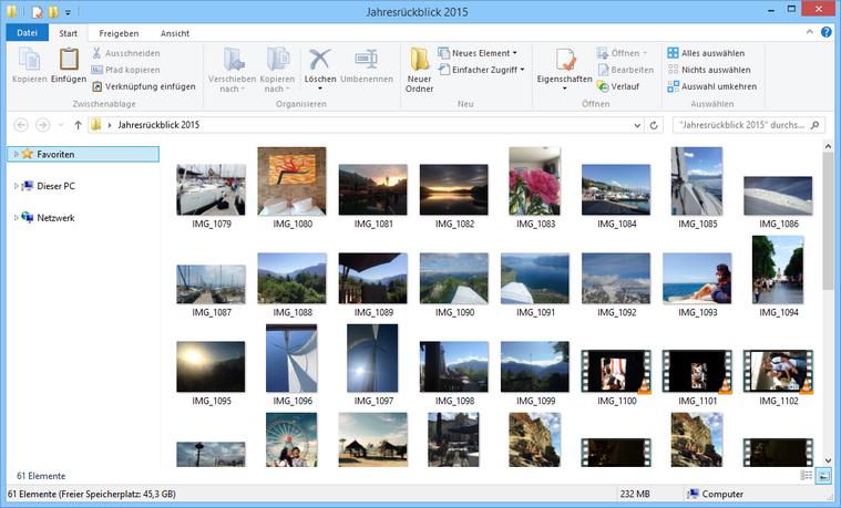 iPhone und iPad Bilder unter Windows verwalten