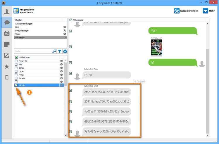 WhatsApp Sprachnachrichten am PC sichern