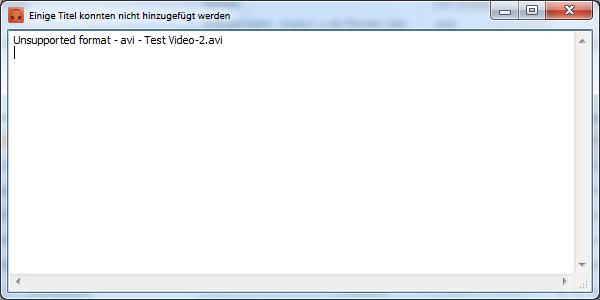 vom CopyTrans Manager nicht unterstützte Formate