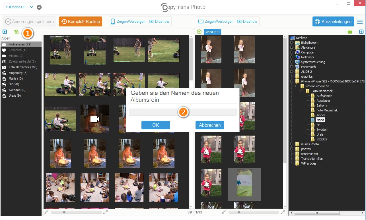 Video auf iPad übertragen
