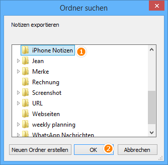 iPhone Notizen am PC sichern