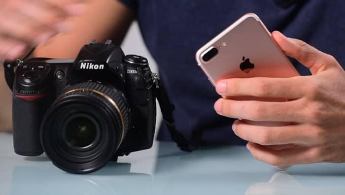 Kamera Bilder auf iPhone übertragen