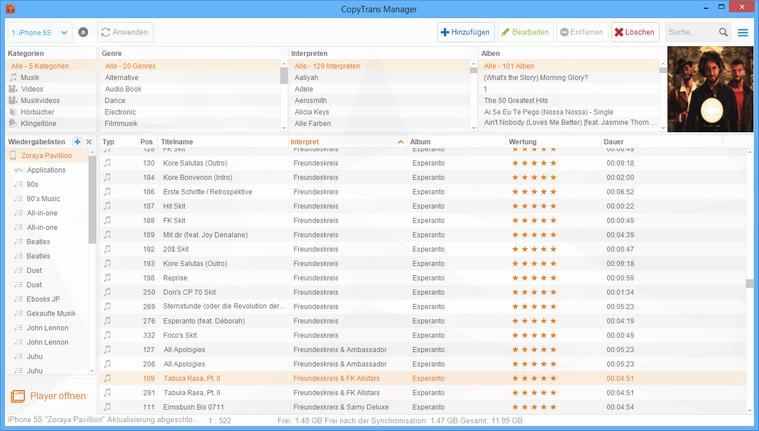 Musik ohne iTunes aufs iPhone laden