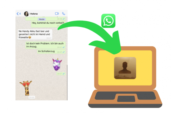 WhatsApp Chats speichern
