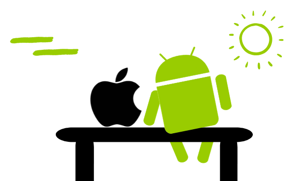 Android und iPhone