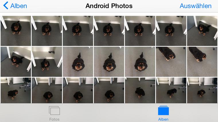 Android Bilder zum iPhone ohne iTunes kopieren