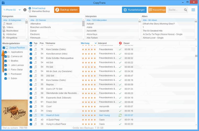 Musik ohne iTunes verwalten