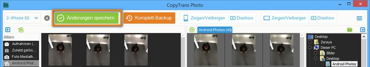 Bilder vom PC auf iPhone ohne iTunes übertragen