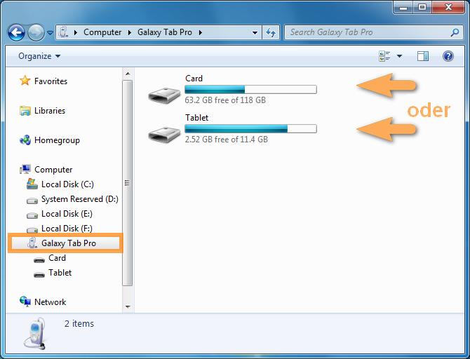 Musik vom PC auf der SD Karte sichern