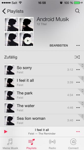 Musik vom PC zum iPhone übertragen
