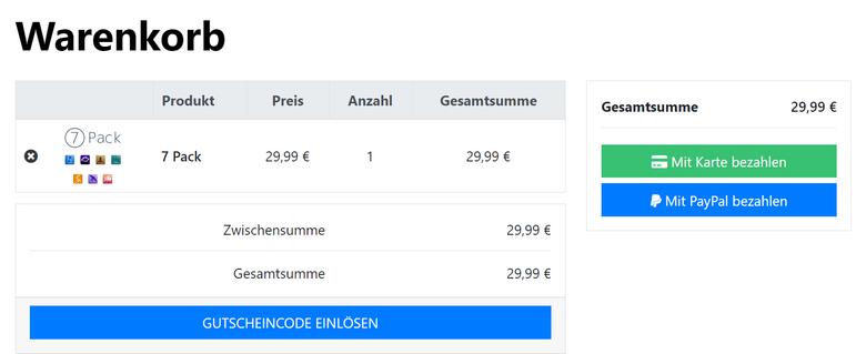 Mit PayPal im Online-Shop bezahlen