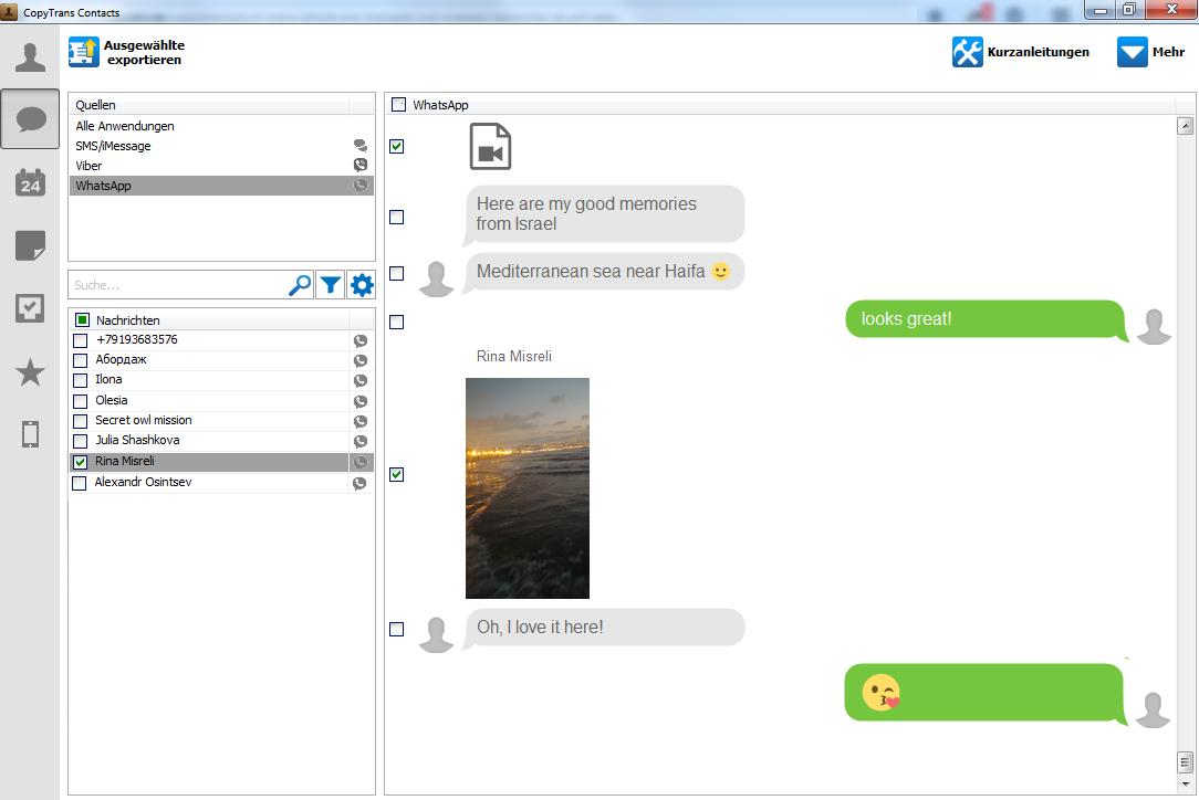 Backup von WhatsApp-Chats am PC erstellen
