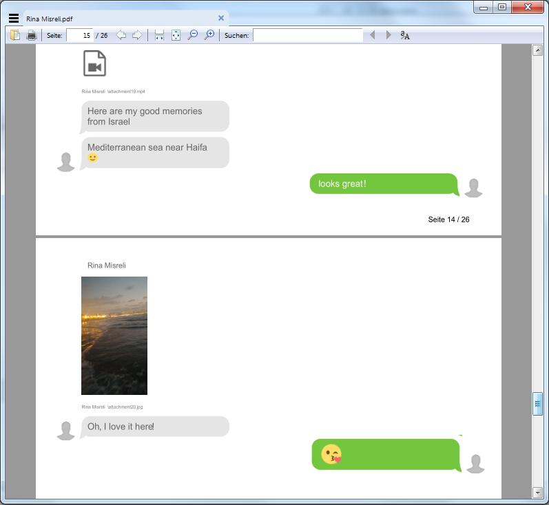 WhatsApp Chats als PDF-Datei am PC sichern