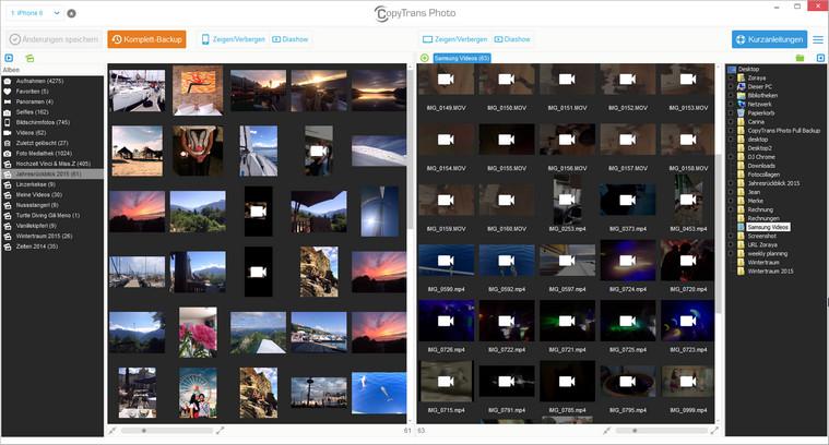 iPhone Videos ohne iTunes verwalten