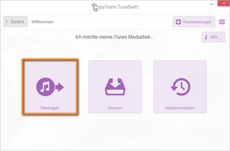 iTunes verschieben auf neues Laufwerk