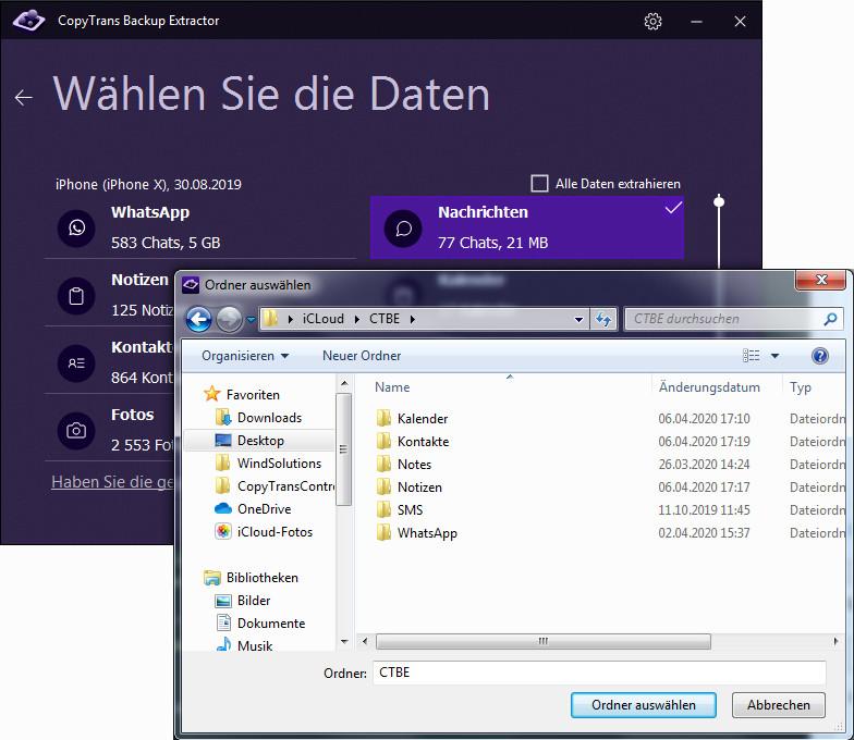 iMessage Windows
