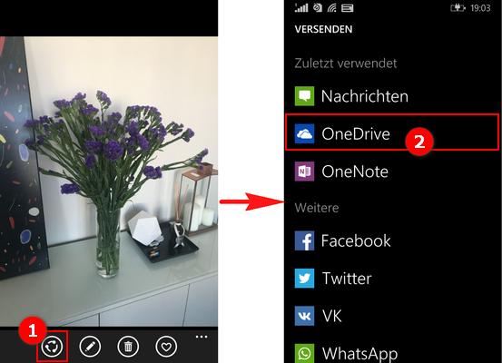 Nokia Lumia Bilder zum PC übertragen
