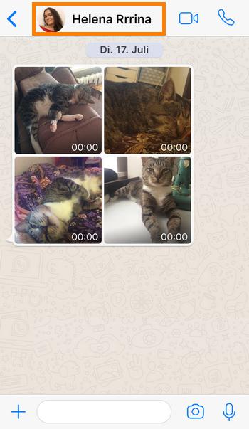 iPhone Kontakte direkt bei WhatsApp löschen