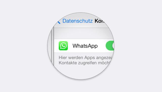 WhatsApp Kontakt löschen geht nicht